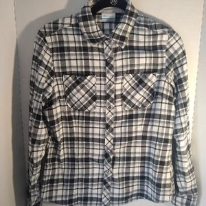 Columbia  plaid flannel shirt